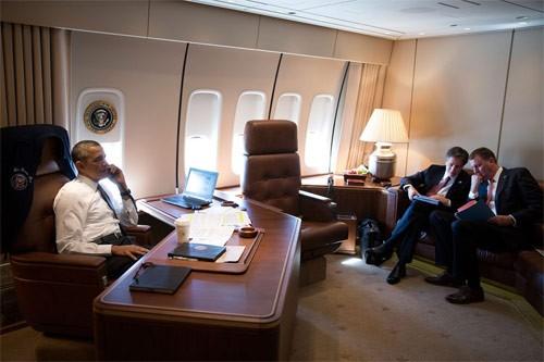Choáng với chi phí vận hành chuyên cơ chở Obama ảnh 3