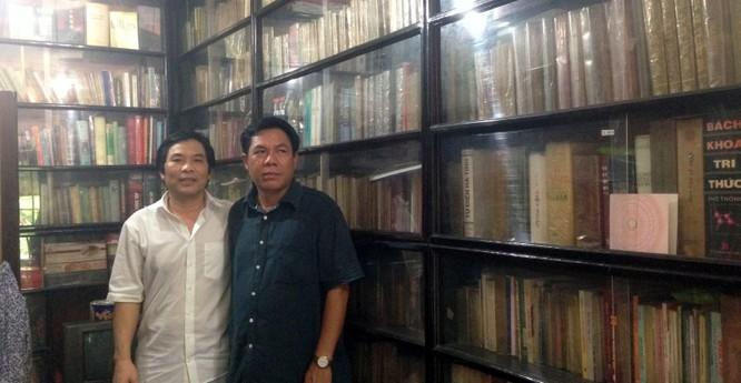 Tác giả và con trai nhà văn Sơn Tùng