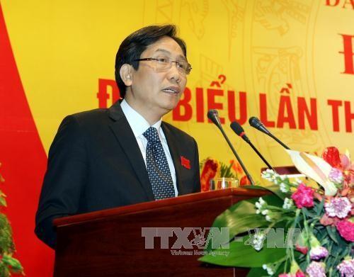 Bí thư Đảng ủy, Thứ trưởng Bộ Nội vụ Trần Anh Tuấn. Ảnh: Phạm Kiên - TTXVN.