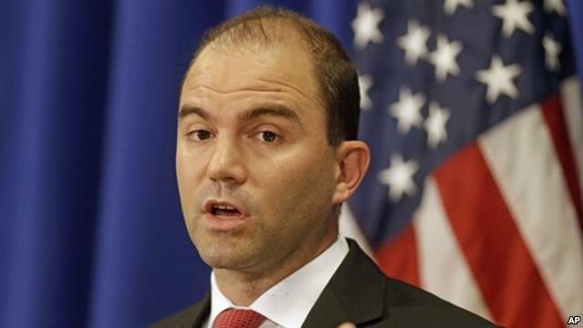 Phó cố vấn an ninh quốc gia Mỹ Ben Rhodes - Ảnh: AP