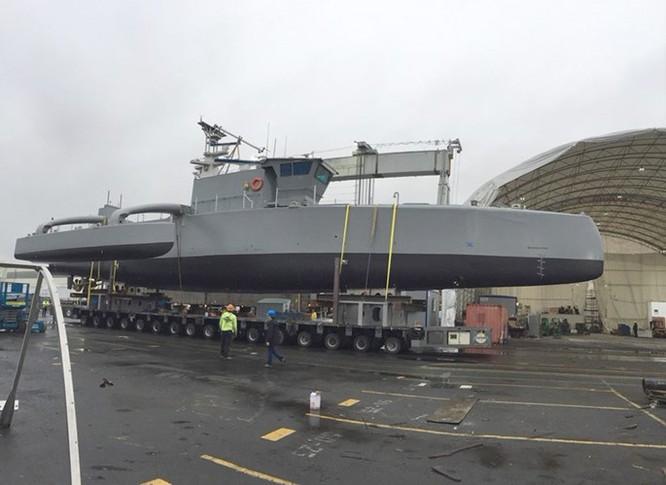 Mỹ công khai hình ảnh tàu robot săn tàu ngầm ảnh 1
