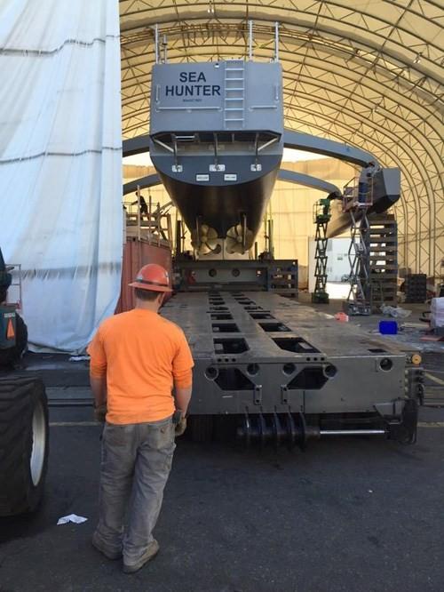 Mỹ công khai hình ảnh tàu robot săn tàu ngầm ảnh 2