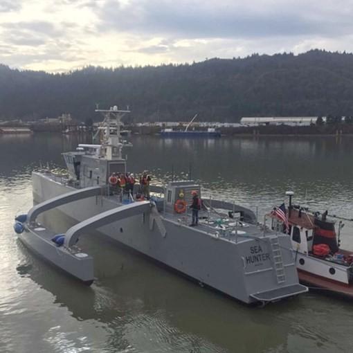 Mỹ công khai hình ảnh tàu robot săn tàu ngầm ảnh 4