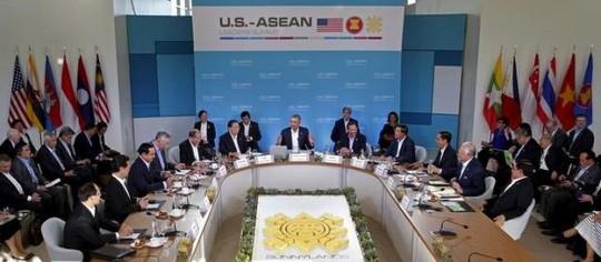 Tuyên bố chung Mỹ-ASEAN kêu gọi bảo vệ tự do hàng hải ảnh 1