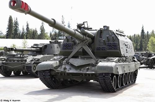 Cận cảnh dàn pháo tự hành 'khủng' nhất thời Liên Xô - ảnh 15