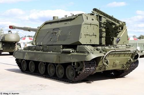 Cận cảnh dàn pháo tự hành 'khủng' nhất thời Liên Xô - ảnh 16