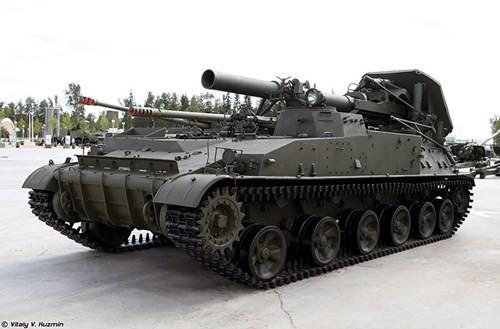 Cận cảnh dàn pháo tự hành 'khủng' nhất thời Liên Xô - ảnh 1