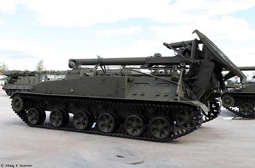 Cận cảnh dàn pháo tự hành 'khủng' nhất thời Liên Xô - ảnh 2