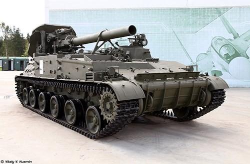 Cận cảnh dàn pháo tự hành 'khủng' nhất thời Liên Xô - ảnh 4