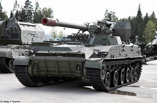 Cận cảnh dàn pháo tự hành 'khủng' nhất thời Liên Xô - ảnh 5