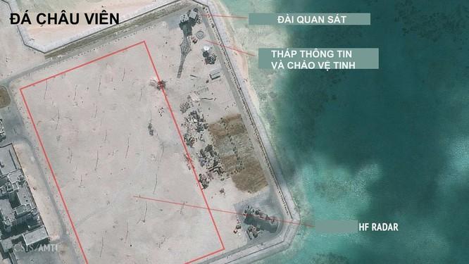 Trung Quốc có thể đang lắp radar cực mạnh trên đá Châu Viên ảnh 1