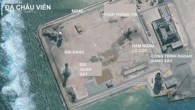 Trung Quốc có thể đang lắp radar cực mạnh trên đá Châu Viên ảnh 2