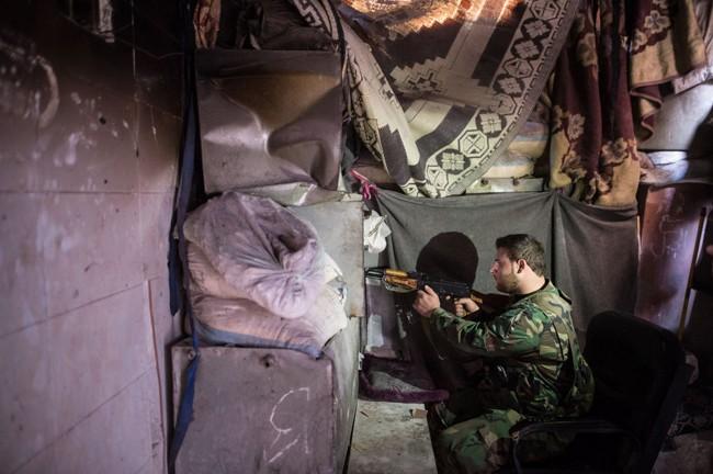 Cuộc sống trong làn đạn ở Aleppo ảnh 5