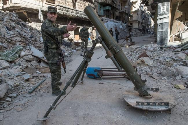 Cuộc sống trong làn đạn ở Aleppo ảnh 9