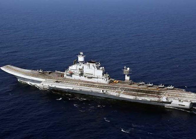 Pháp, Nga đấu thầu chế tạo tàu sân bay cho Ấn Độ ảnh 1