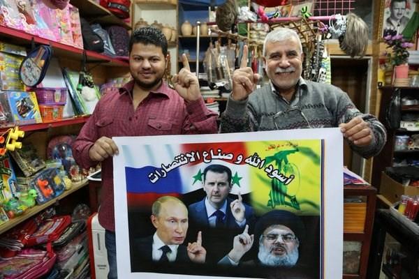 """Khi Tổng thống Putin là """"thần tượng"""" ở Syria ảnh 1"""