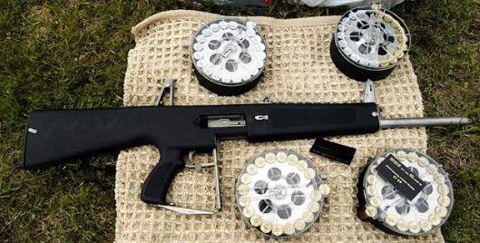 Sức mạnh khẩu súng 2 chế độ bắn Auto Assault-12 của Mỹ ảnh 1