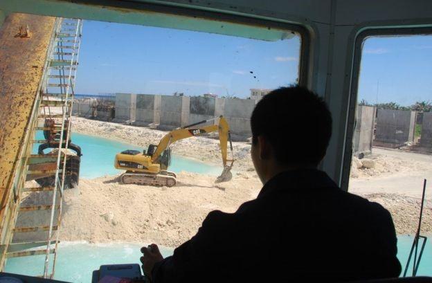 Cận cảnh những việc làm phi pháp của TQ ở đảo Phú Lâm ảnh 2
