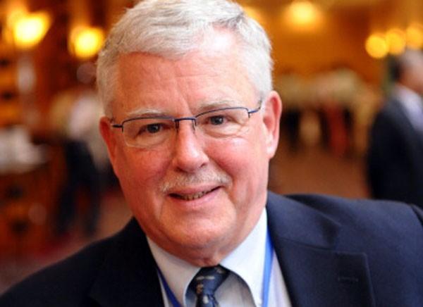 Giáo sư Carl Thayer, chuyên gia về Biển Đông. Ảnh: Getty