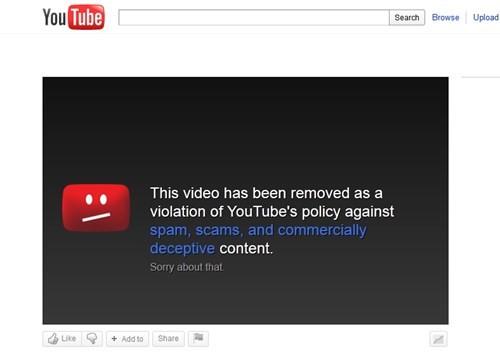 Những trường hợp nào sẽ bị gỡ kênh Youtube? ảnh 1