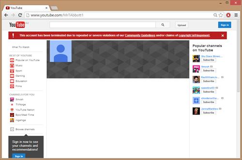 Những trường hợp nào sẽ bị gỡ kênh Youtube? ảnh 2