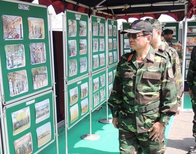 Hình ảnh quân đội Việt Nam tham gia diễn tập thực binh quốc tế FORCE 18 ảnh 3