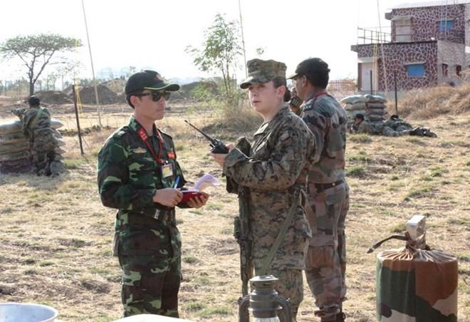 Hình ảnh quân đội Việt Nam tham gia diễn tập thực binh quốc tế FORCE 18 ảnh 4