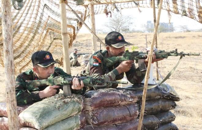 Hình ảnh quân đội Việt Nam tham gia diễn tập thực binh quốc tế FORCE 18 ảnh 5