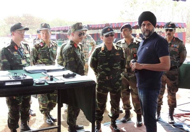 Hình ảnh quân đội Việt Nam tham gia diễn tập thực binh quốc tế FORCE 18 ảnh 7