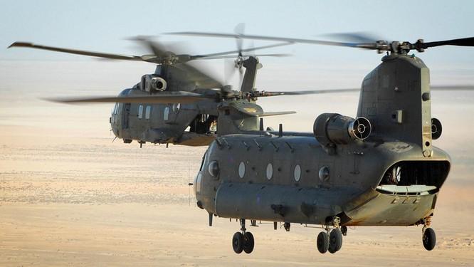 Video thử nghiệm phá hủy trực thăng CH-47 Chinook của Mỹ ảnh 1