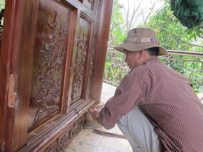 Thợ từ Bắc Ninh vào tháo dỡ biệt phủ không phép trên núi Hải Vân ảnh 2
