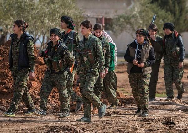 Chưa diệt xong kẻ thù chung IS, người Kurd đã đòi ly khai khỏi Syria ảnh 1