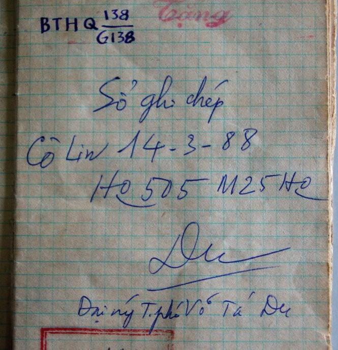 Cuốn nhật ký kỳ lạ từ tàu HQ 505 ảnh 2
