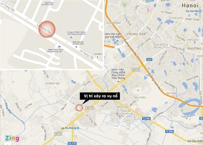 Nguyên nhân vụ nổ lớn ở Hà Đông do cưa vật liệu nổ? ảnh 2