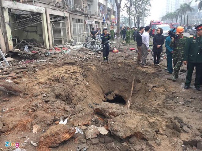 Nguyên nhân vụ nổ lớn ở Hà Đông do cưa vật liệu nổ? ảnh 1
