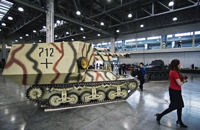 Đã mắt với dàn xe quân sự Thế chiến thứ 2 ảnh 1