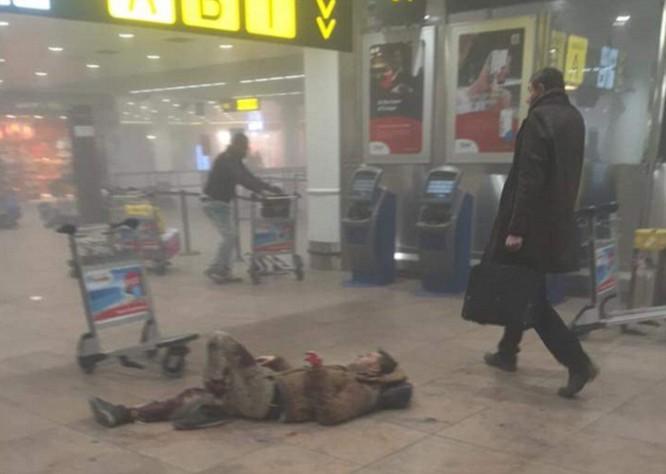 Tấn công khủng bố liên tiếp ở Bỉ: 34 người chết ảnh 4