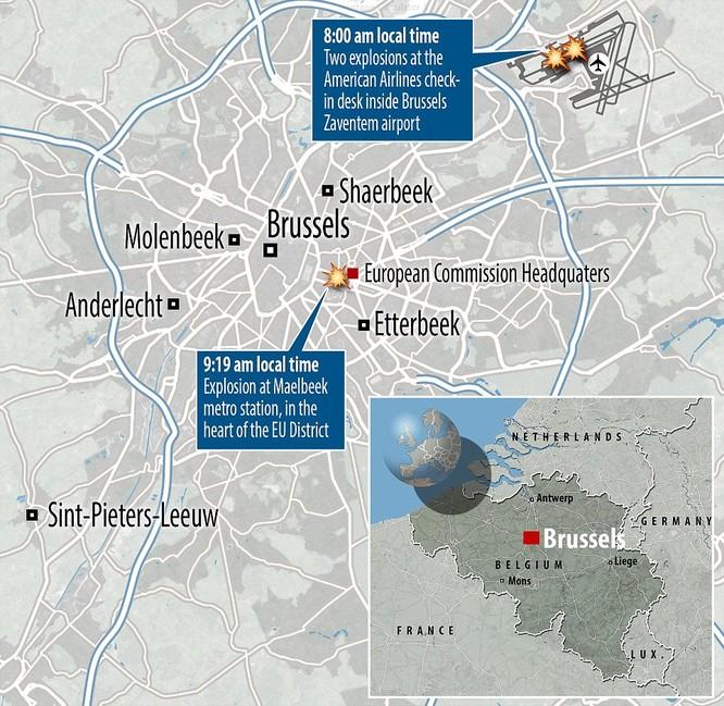 Tấn công khủng bố liên tiếp ở Bỉ: 34 người chết ảnh 6
