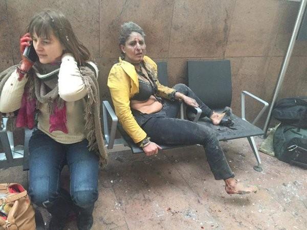 Tấn công khủng bố liên tiếp ở Bỉ: 34 người chết ảnh 10