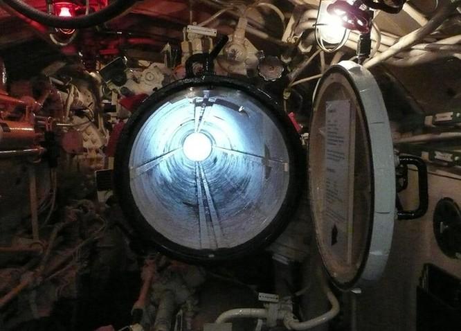 Video học viên tàu ngầm Nga tập thoát hiểm qua ống phóng ngư lôi ảnh 2