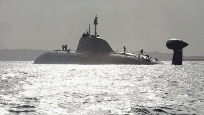 Tàu ngầm hạt nhân Akula sẽ trang bị tên lửa Klub ảnh 1