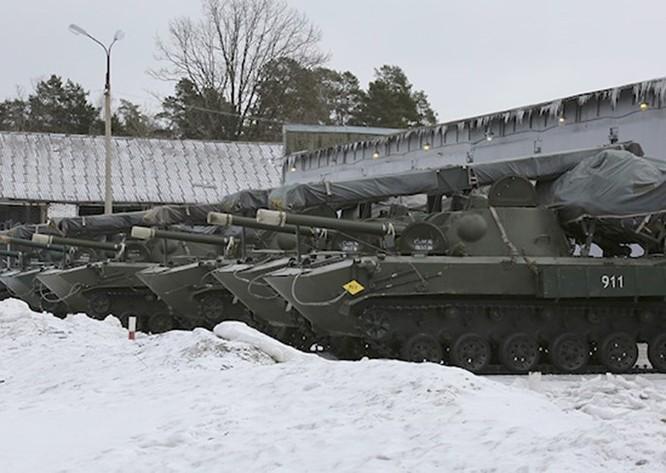 Video Lực lượng dù Nga diễn tập báo động ảnh 1