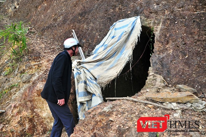 Bí thư huyện tường trình gì về đường hầm xuyên núi! ảnh 1