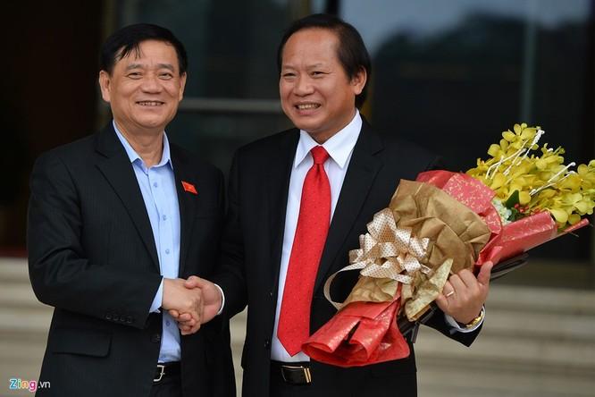 Tân phó thủ tướng, bộ trưởng rạng rỡ ngày nhậm chức ảnh 12