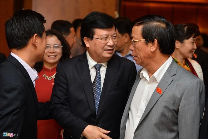 Tân phó thủ tướng, bộ trưởng rạng rỡ ngày nhậm chức ảnh 8