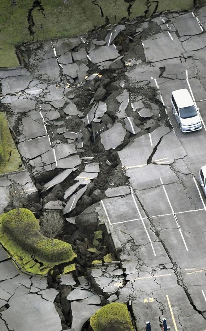 Trận động đất trên xảy ra tại quận Kumamoto vào lúc 21h26 giờ địa phương (19h26 giờ Việt Nam). Tâm chấn ở độ sâu 11 km.
