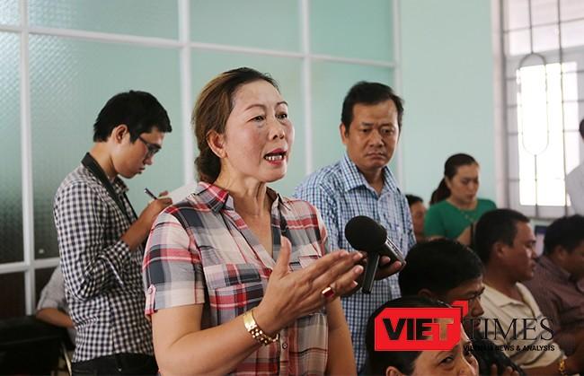 Bà Nguyễn Thị Thùy Dung, tiểu thương bến cá yêu cầu làm sáng tỏ sớm nguyên nhân cá chết để người dân được biết, được rõ. Trả lại uy tín cho con cá của ngư dân Đà Nẵng.