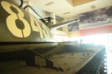 Hai chiếc xe tăng đầu tiên tiến vào Dinh Độc Lập giờ ra sao? ảnh 11