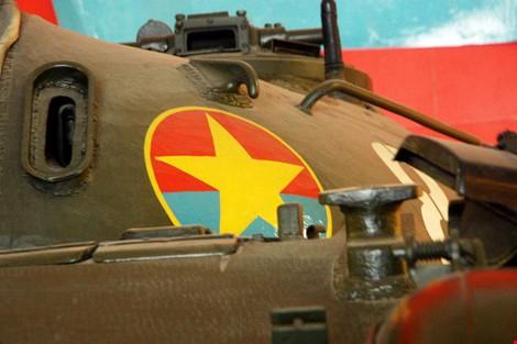 Hai chiếc xe tăng đầu tiên tiến vào Dinh Độc Lập giờ ra sao? ảnh 12