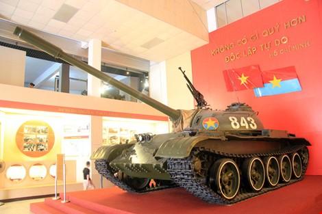 Hai chiếc xe tăng đầu tiên tiến vào Dinh Độc Lập giờ ra sao? ảnh 2
